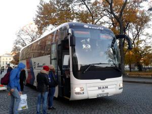 Автобус Санкт-Петербург - Лаппеенранта компании Совавто